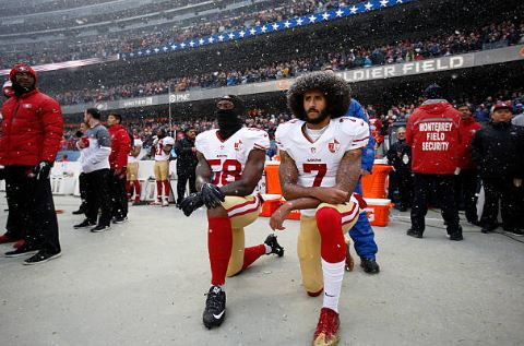 Colin Kaepernick, 49ers, the daily lash, national anthem