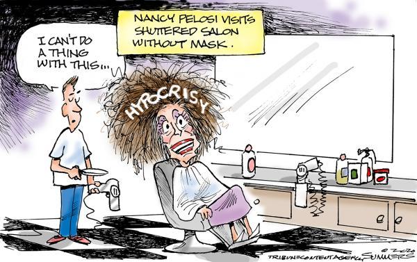 nancy pelosi, the daily lash