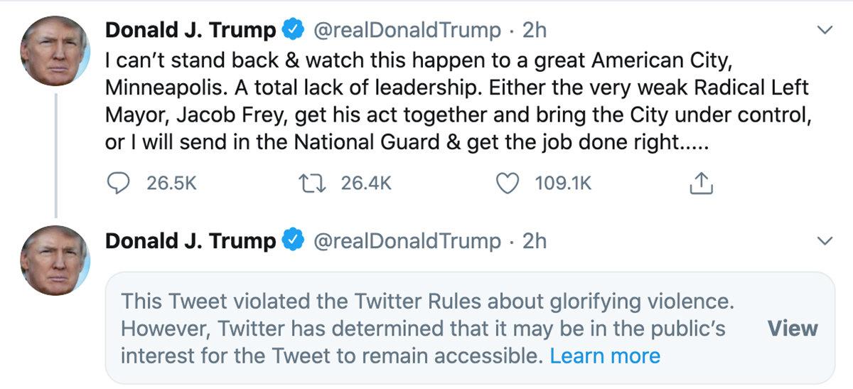 donald trump against violence, donald trump tweets, the daily lash